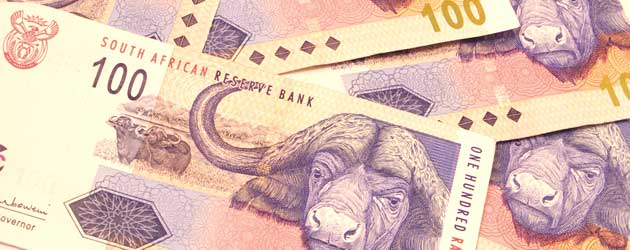 South African Rand To Us Dollar Usd