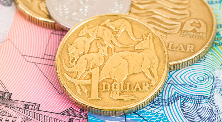 Pound Sterling Australian Dollar Gbpaud Exchange Rate Rises As