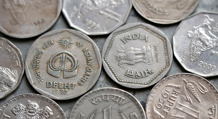 Indian currency market
