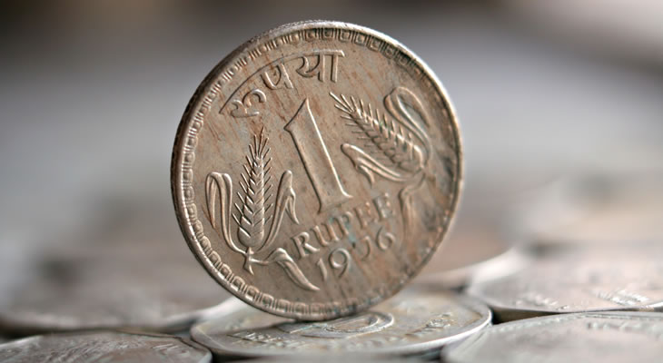 Pound Indian Ru Slips As Gujarat Exit Polls Boost
